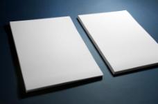 纸品纸张画册名片效果图智能贴图模版