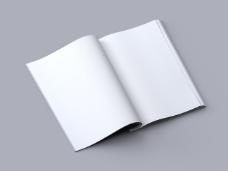 画册手册效果图设计智能贴图模版样机