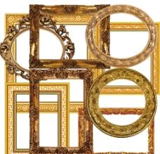 欧美风格画框图片