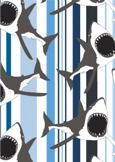海洋元素动物背景