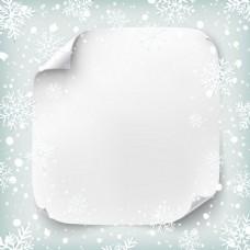 圣诞节贺卡AI白色背景元素