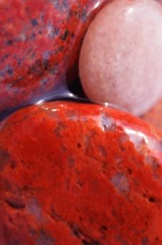 红色鹅卵石贴图