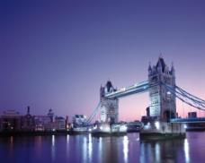 世界名胜英国塔桥