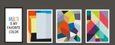 装饰画 不规则几何图形图片