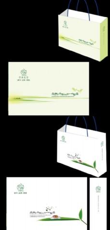 茶手提袋设计图片