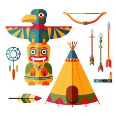 印第安文化元素