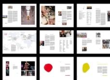 创意整套画册模板图片