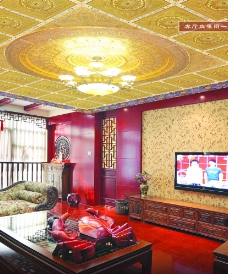 高端套房客厅装修图片