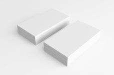名片设计效果图智能贴图提案样机模版