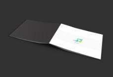 画册设计效果图智能贴图模版样机