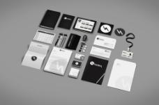 高端VI设计提案模版效果图智能贴图样机