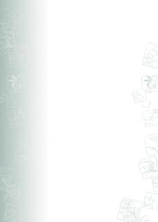 简易素雅花纹背景图