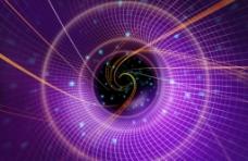 炫紫网格背景图片