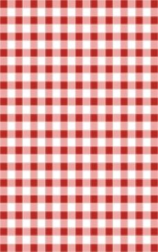 红色白色格子背景
