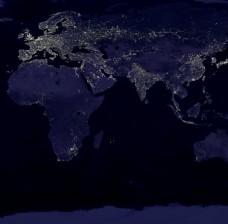 地球 夜景 贴图图片
