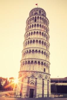 唯美建筑比萨斜塔