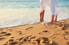 非主流沙滩爱情图片