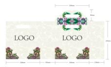 少数民族花纹手提袋包装设计图片