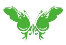 美丽蝴蝶AI绘图
