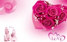玫瑰心图片