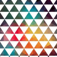 彩色三角 分层图片