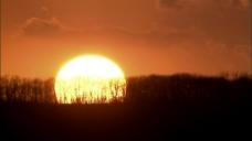 日落高清视频实拍素材