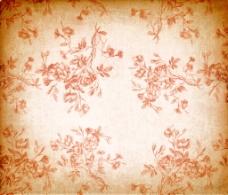 复古花藤背景图片