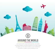 世界名胜设计图片