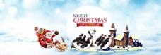 圣诞首焦海报广告图图片