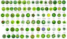 房地产户型植被图片