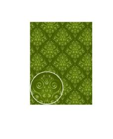 绿色花纹纹理素材