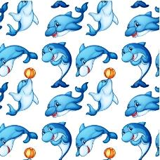 海豚矢量素材