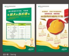 中国人寿95516防癌海报版样图片