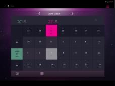 安卓平板日期界面设计