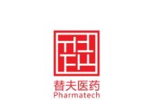 替夫TF医药科技logo创意设计