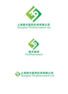 医药科技logo创意设计