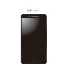 iphone6手机矢量图片