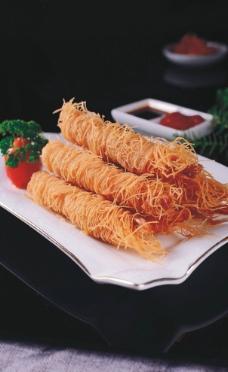 香酥虾线图片