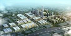南昌華南城全景圖圖片