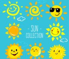 可爱太阳 设计图片
