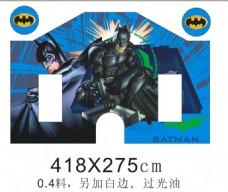 蝙蝠侠喷画图片