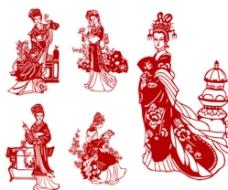 中国传统剪纸图片