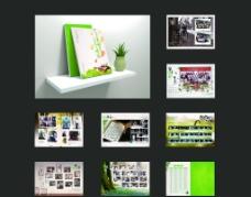 纪念册模板图片