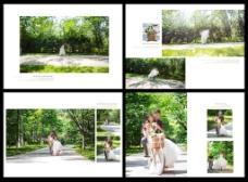 树林婚纱相册