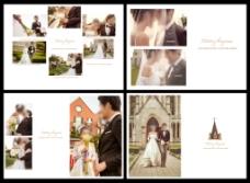 天主教堂婚纱模板