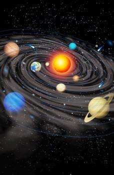 太阳系的灾难图片