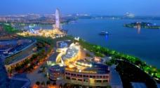苏州金鸡湖高清图片