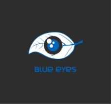 蓝眼睛LOGO