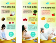 科学管理孕妇展板