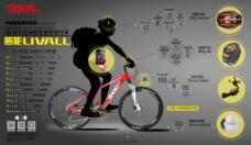 自行车介绍展板
